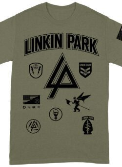 linkin park patches majica